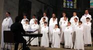 Geistliche Lieder beim Konzert